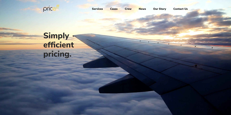 Priceff website